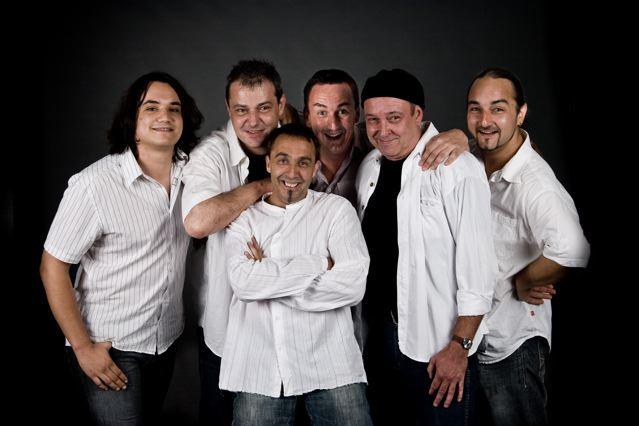 VolleWolle-Band Pressefoto
